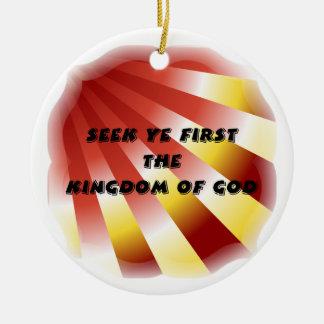 Búsqueda YE primero el reino de dios Ornamentos Para Reyes Magos
