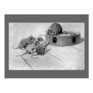 Búsquedas del ratón para inhabilitar la ratonera postales