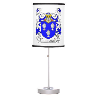 Bussard Coat of Arms Desk Lamp