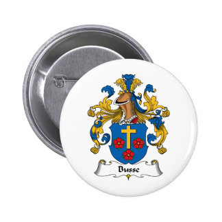 Busse Family Crest Pinback Button