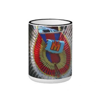 Bussels del nativo americano taza