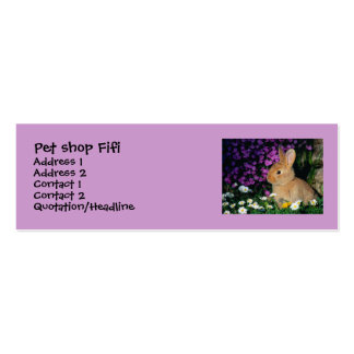 bussines card Double-Sided mini business cards (Pack of 20)