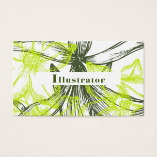 Bussiness card for illustrator