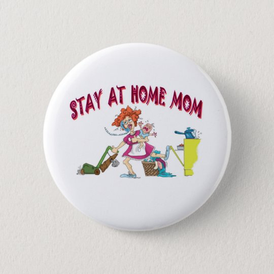 bussy mom pinback button