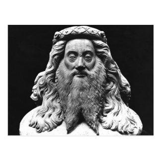 Bust from the Funeral Statue of Jean II de Vienne Postcard
