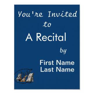 bust lyre violin sheet music design.png card
