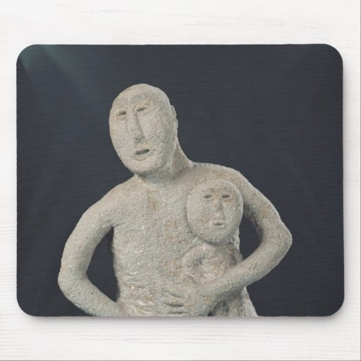 Bust of a Mother Goddess Mousepad