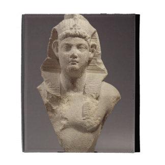 Bust of a Roman Emperor as a pharaoh (marble) iPad Cases