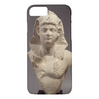 Bust of a Roman Emperor as a pharaoh (marble) iPhone 8/7 Case