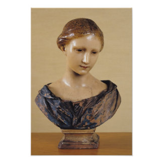 Bust of a Woman Poster