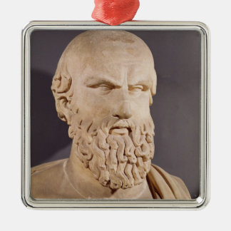 Bust of Aeschylus Metal Ornament