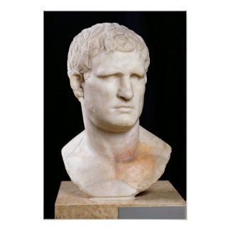 Bust of Agrippa Poster
