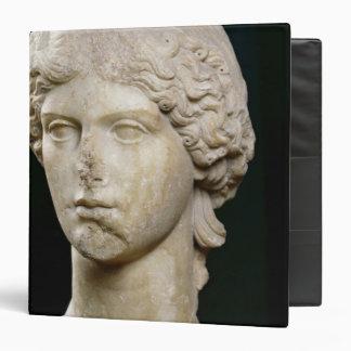 Bust of Agrippina the Elder  c.37-41 AD 3 Ring Binder