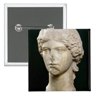Bust of Agrippina the Elder  c.37-41 AD Button
