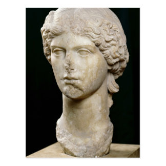 Bust of Agrippina the Elder  c.37-41 AD Postcard