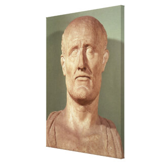 Bust of Alcibiades Gallery Wrap Canvas