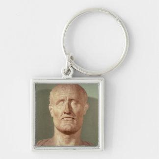 Bust of Alcibiades Keychain