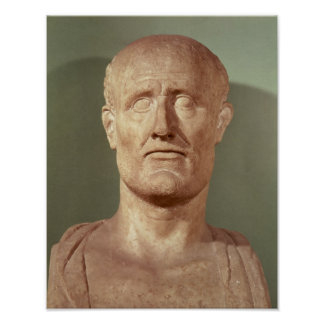 Bust of Alcibiades Poster