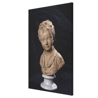Bust of Alexandre Brongniart Canvas Print