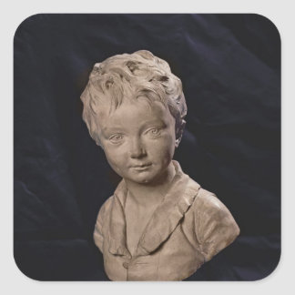 Bust of Alexandre Brongniart Square Sticker