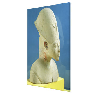 Bust of Amenophis IV  from Tell el-Amarna Canvas Print