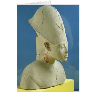 Bust of Amenophis IV  from Tell el-Amarna Card
