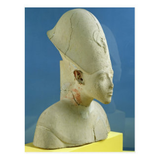 Bust of Amenophis IV  from Tell el-Amarna Postcard