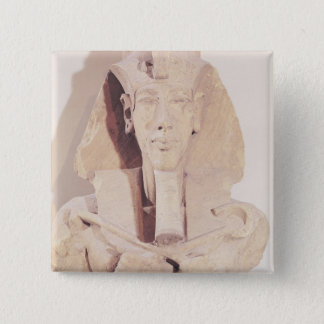 Bust of Amenophis IV from the Temple of Amun Pinback Button