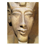 Bust of Amenophis IV   from the Temple of Amun Postcard