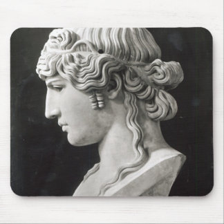 Bust of Antinous  called 'Antinous Mondragone' Mouse Pad