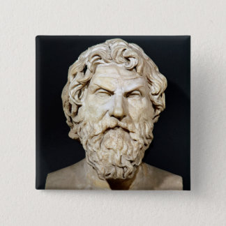 Bust of Antisthenes Button