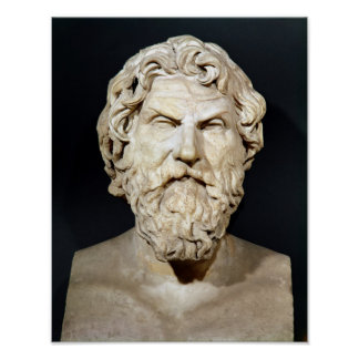Bust of Antisthenes Print