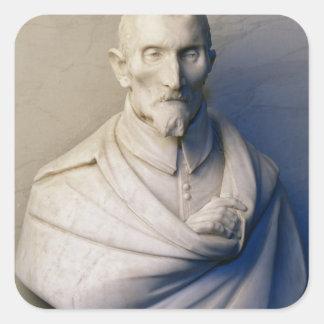 Bust of Antonio Coppola, 1612 Square Sticker
