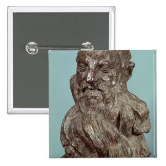 Bust of Auguste Rodin  1909 Pinback Button