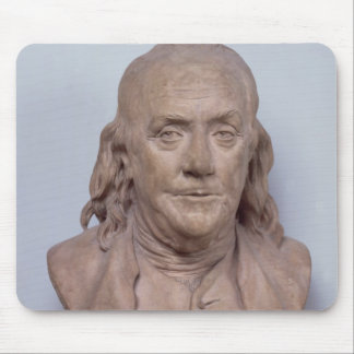 Bust of Benjamin Franklin  1778 Mouse Pad
