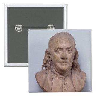 Bust of Benjamin Franklin  1778 Pinback Button