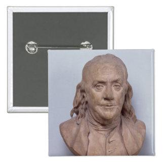 Bust of Benjamin Franklin  1778 Pinback Button