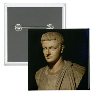 Bust of Caligula Pinback Button