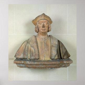 Bust of Chancellor Antoine Duprat Print
