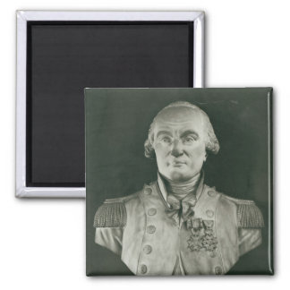 Bust of Charles de Coulomb Fridge Magnet
