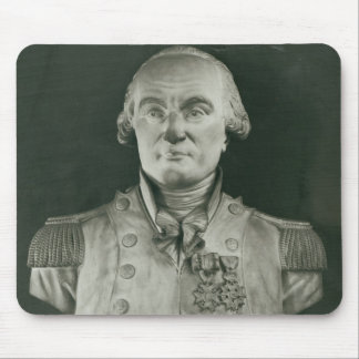 Bust of Charles de Coulomb Mouse Pad