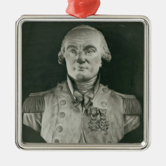 Bust of Charles de Coulomb Ornament