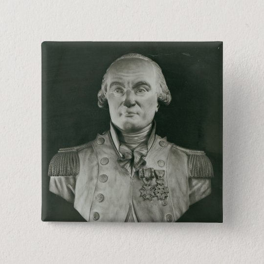 Bust of Charles de Coulomb Pinback Button