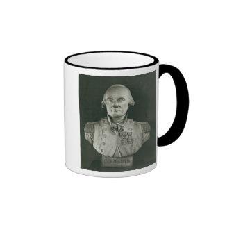 Bust of Charles de Coulomb Ringer Mug