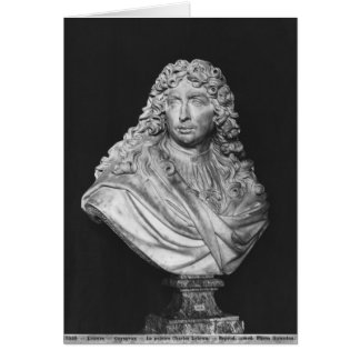 Bust of Charles Le Brun, 1679 Card