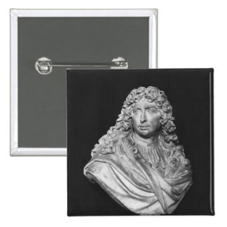 Bust of Charles Le Brun, 1679 Pinback Button