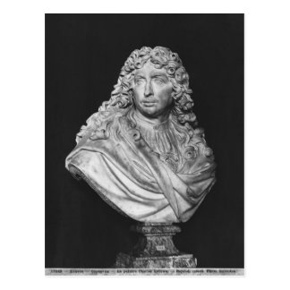 Bust of Charles Le Brun, 1679 Postcard