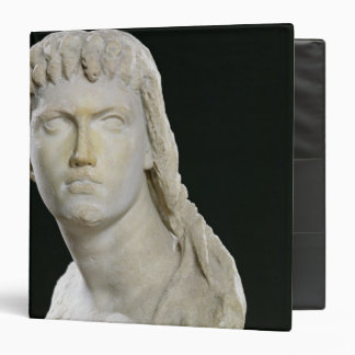 Bust of Cleopatra II or her daughter 3 Ring Binder