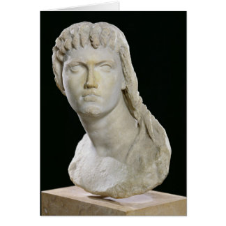 Bust of Cleopatra II or her daughter Card