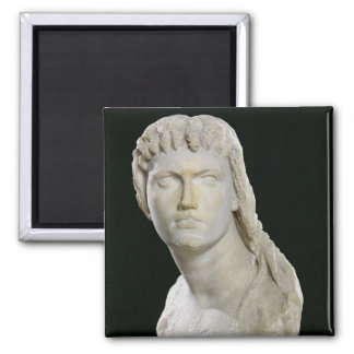 Bust of Cleopatra II or her daughter Magnet
